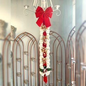 Vintage Christmas Santa Claus Wall Hanging